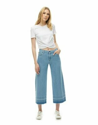 Yoga Jeans ~ Lily WIde Leg Jeans / Lobster Roll
