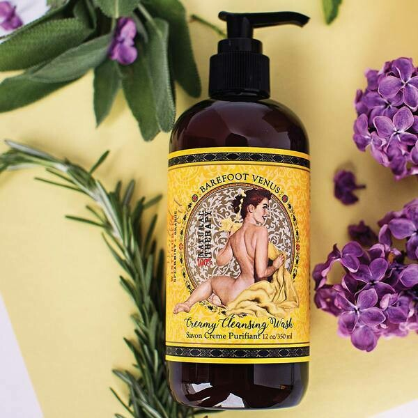 Barefoot Venus - Mustard Bath ~ Creamy Cleansing Wash