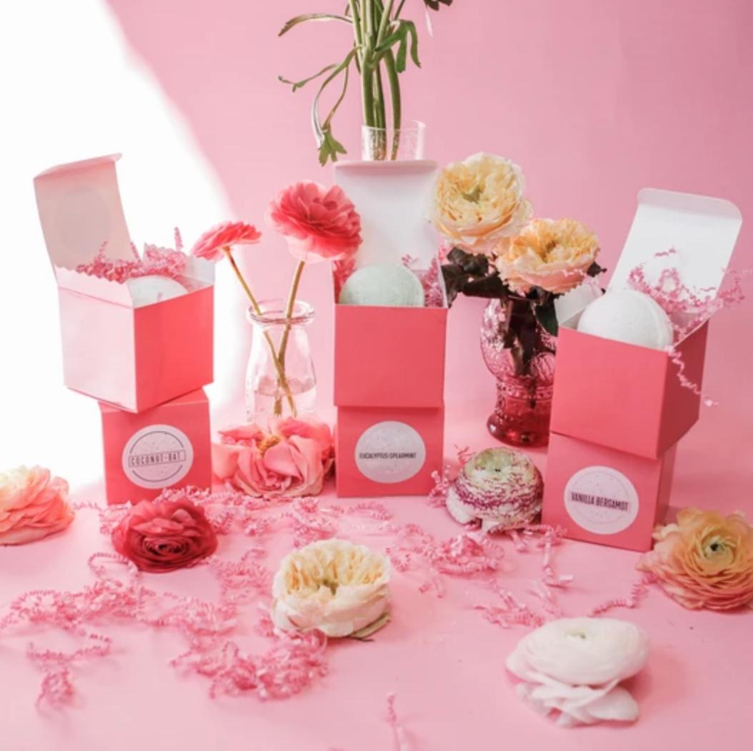 Pink House ~ Bath Bomb