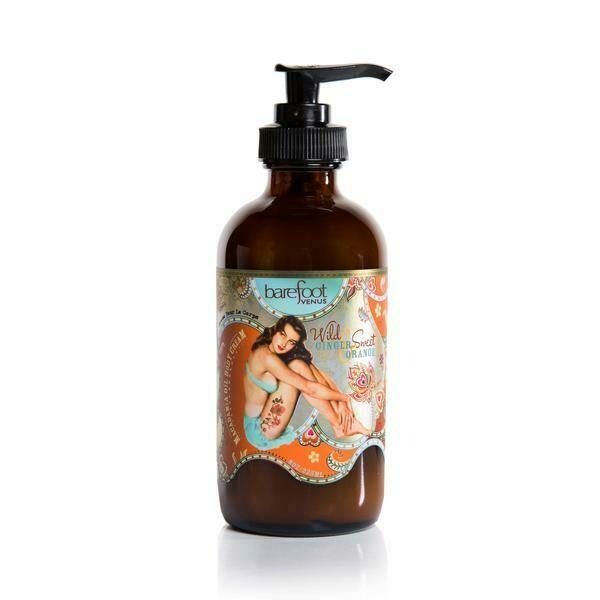 Barefoot Venus - Wild Ginger & Sweet Orange - Macadamia Oil Body Cream