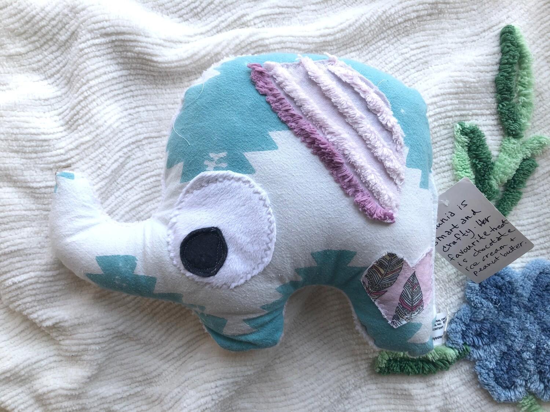 Moxie & Zab ~ Petunia the Elephant