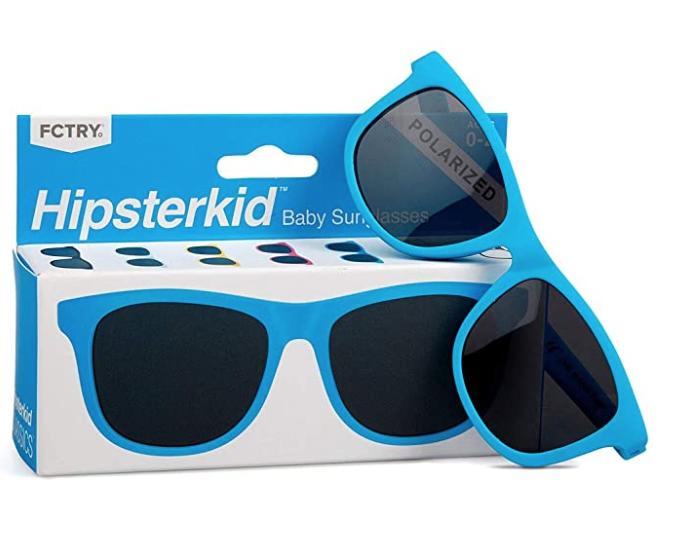 Blue Hipsterkid Sunglasses