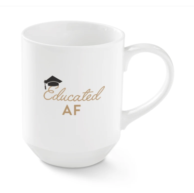 Educated AF mug