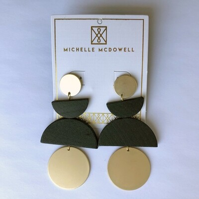 Michelle McDowell ~ Graphic Shapes Earrings