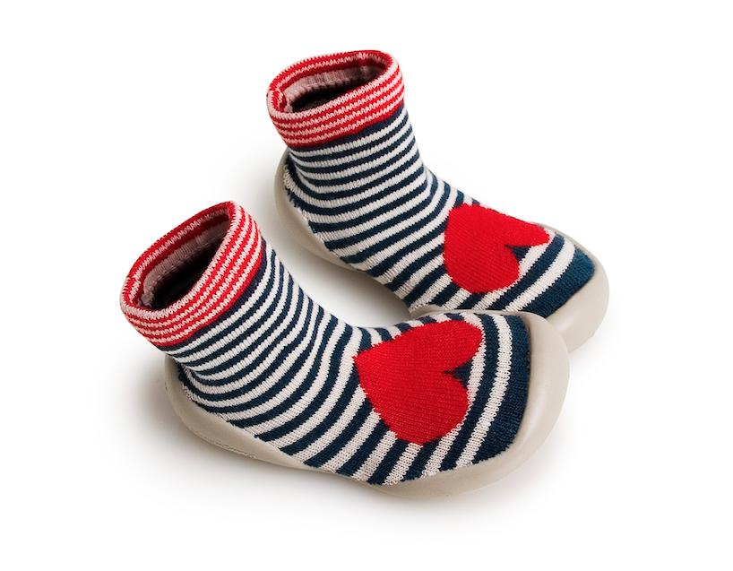 Collegien Slippers - Hearts