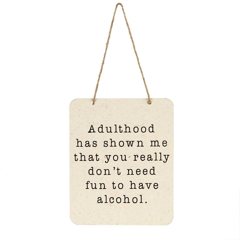 Adulthood Sign