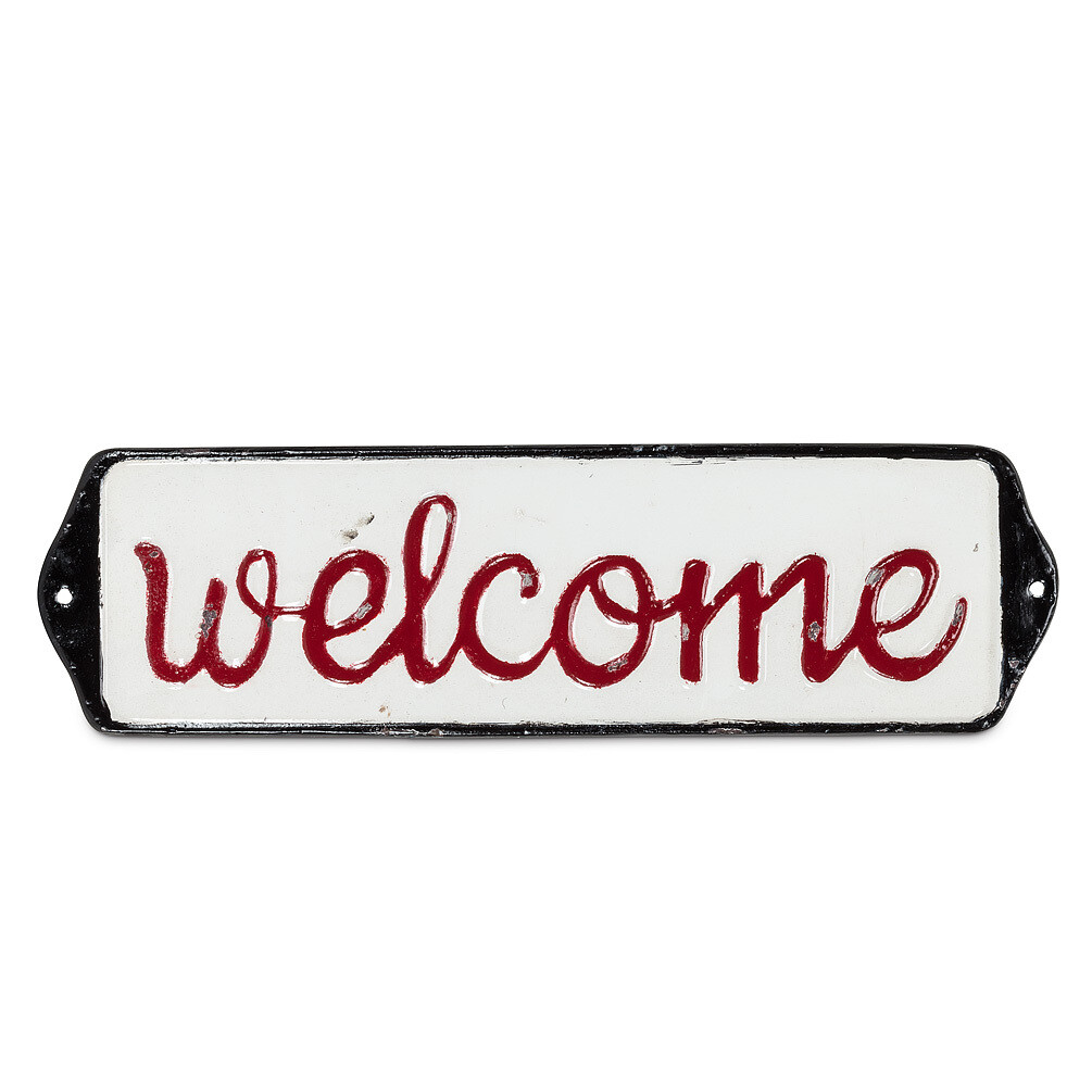 "Small ""Welcome"" Sign"