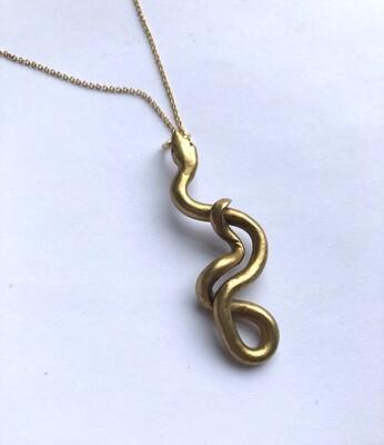 Tamara Steinborn ~ OPHIS ~ Snake Necklace in Bronze