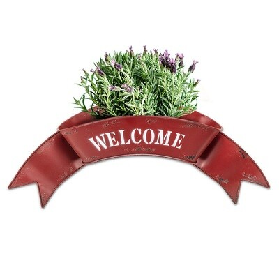 Welcome Wall Planter