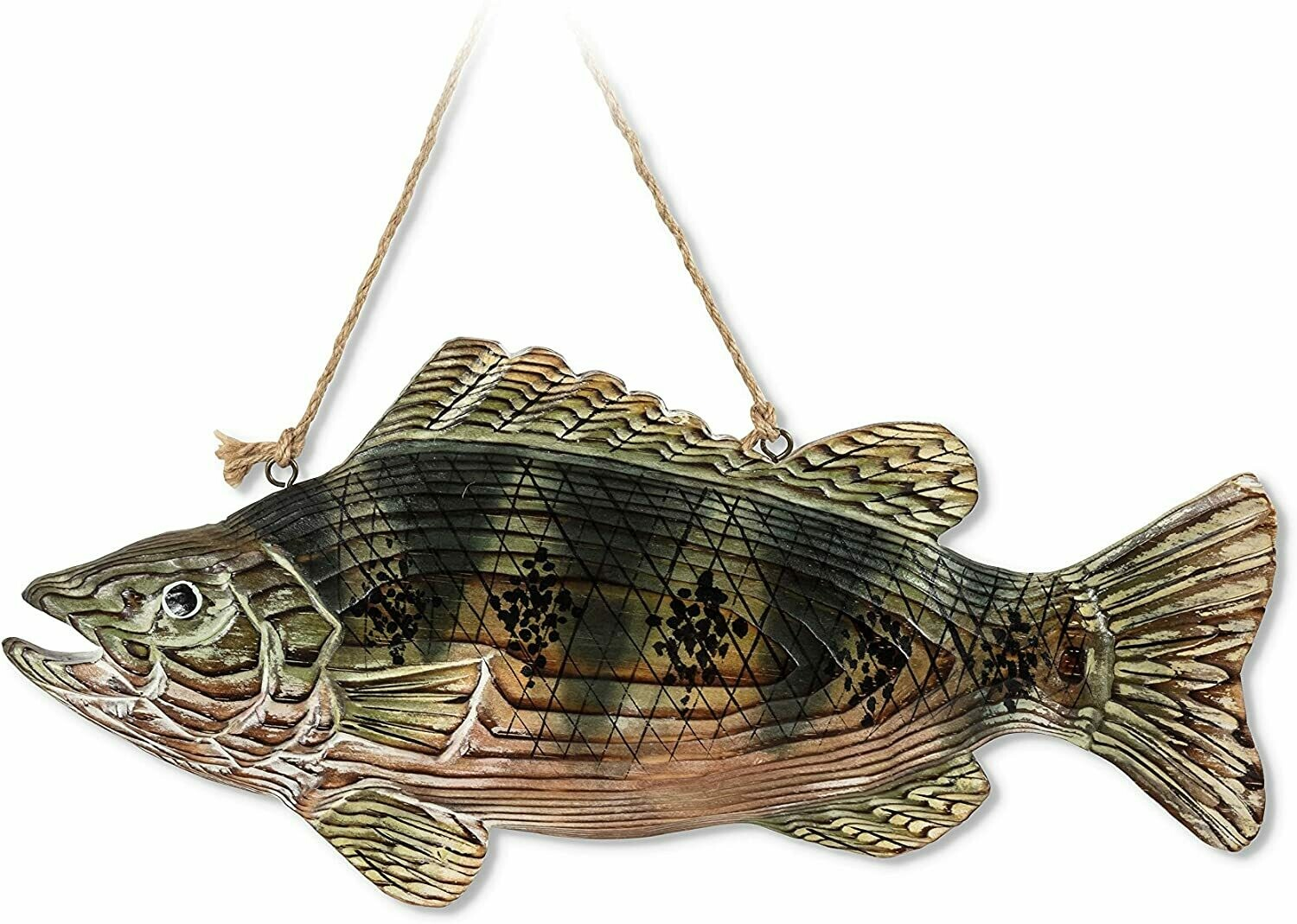 Carved Fish Wall Hanging