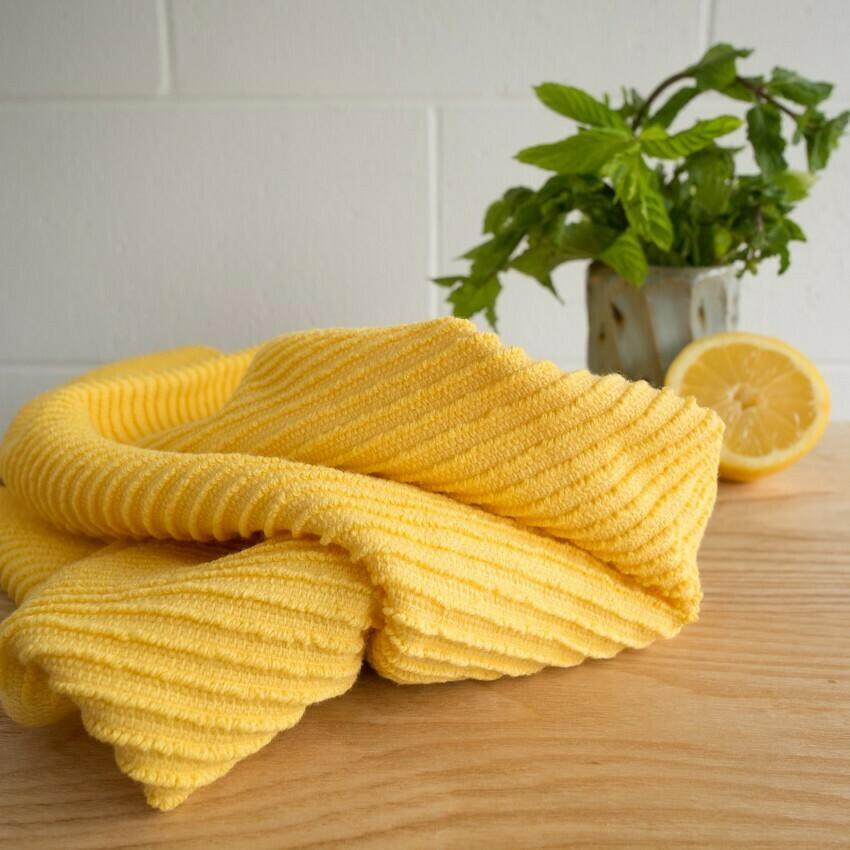 Lemon Ripple Towel