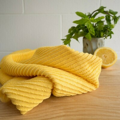 Lemon Ripple Towel