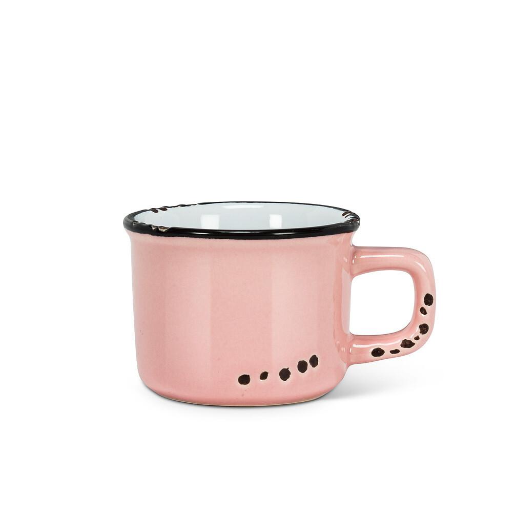 Pink Espresso Cup