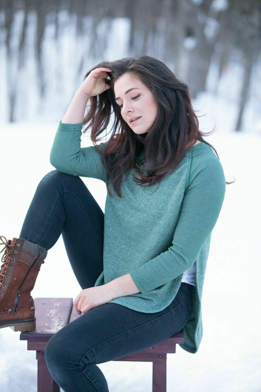 Blondie ~ East End Sweater - Green