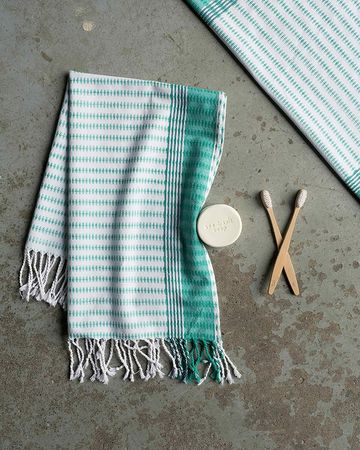 Danica Towel Sea Green