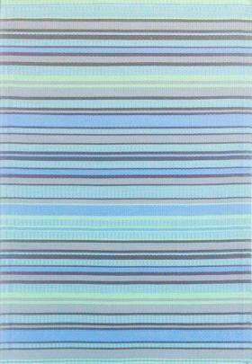 Mad Mat Runner Blue Stripe