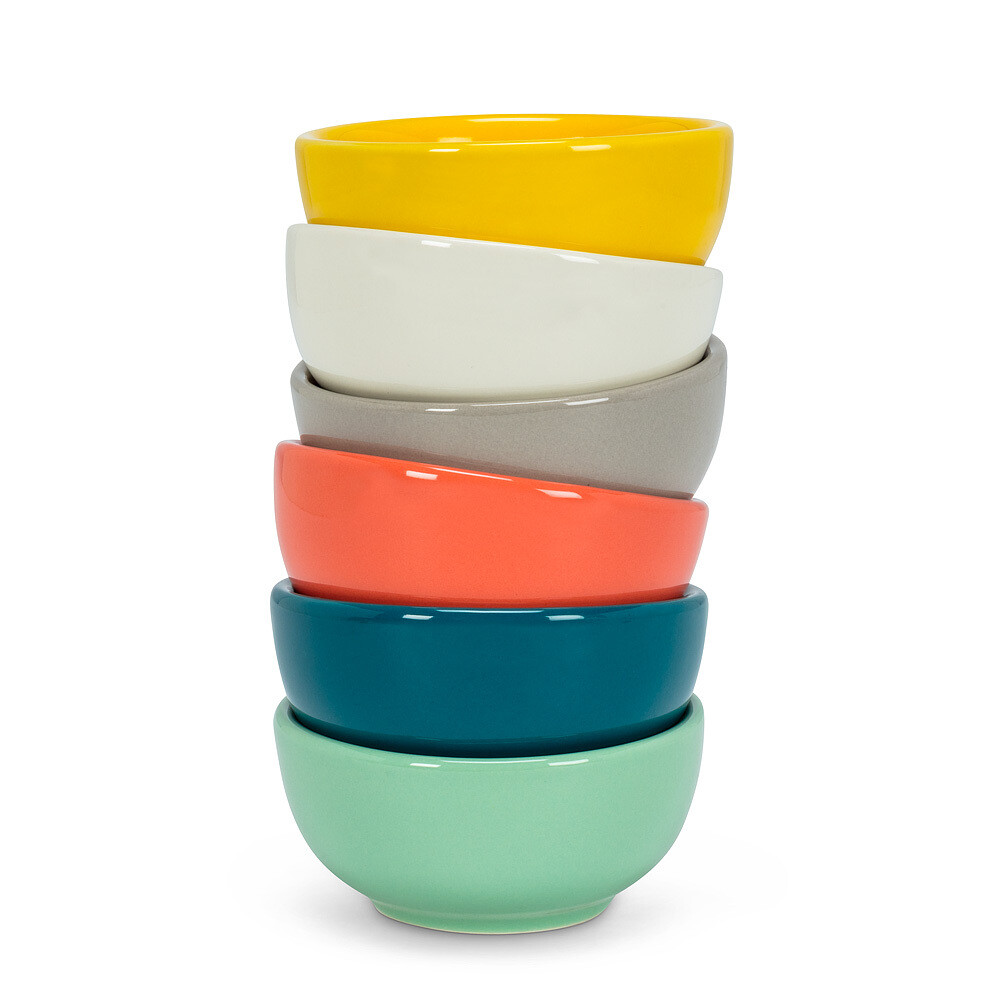 Coloured Pinch Bowls