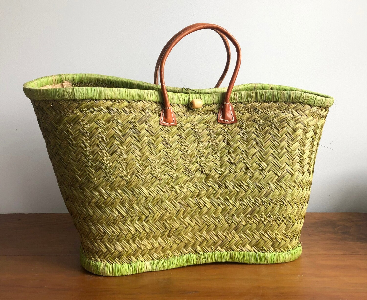 Madagascar basket - Lime Green