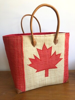 Madagascar Basket - Canada Flag