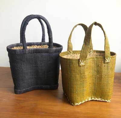 Madagascar Basket - Small Woven Basket