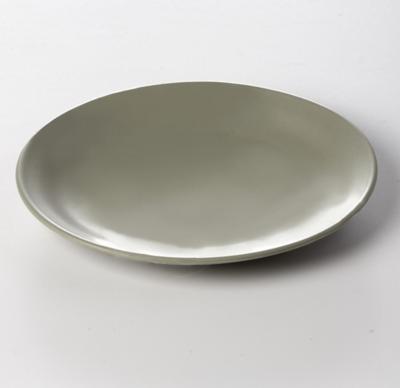 Matte Moss Salad Plate
