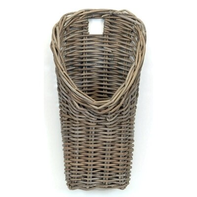 WALL BASKET KUBU GREY