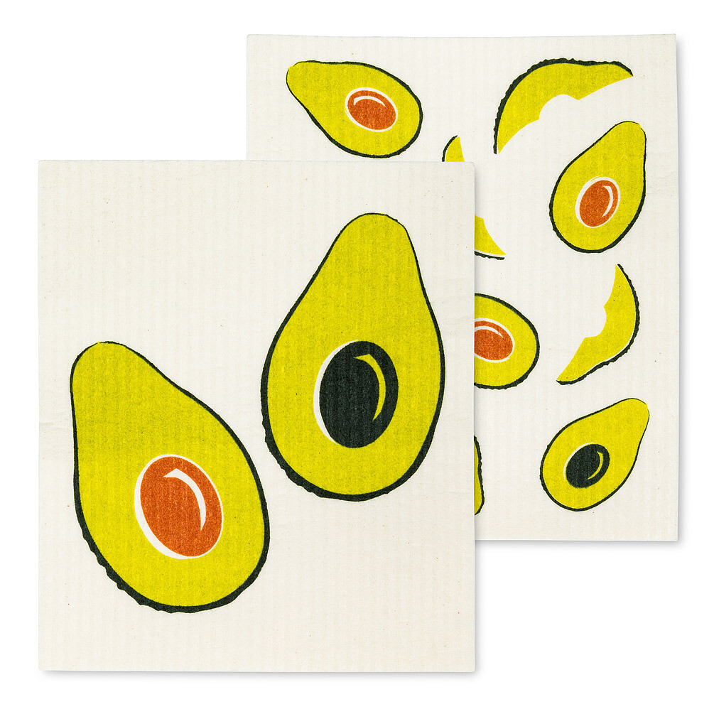 Avocado Dish Cloths Set of 2