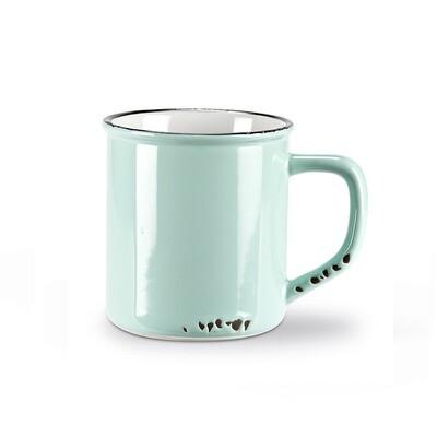 Enamel Look Mug - Mint