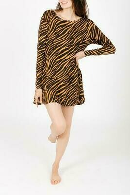 S&T Sweater Weather Dress  Tiger