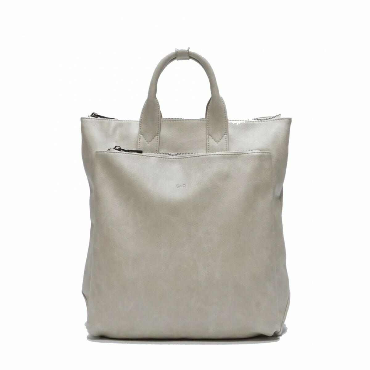 SQ ~ Elena Backpack - Light Grey