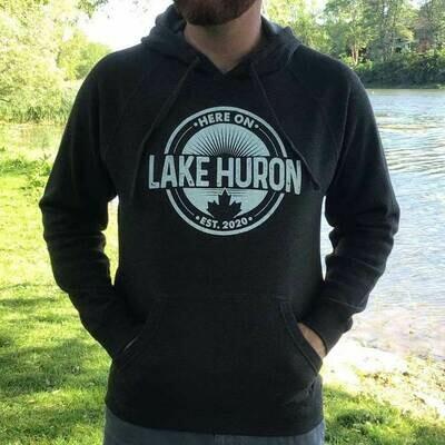 Here On Lake Huron Unisex Hoodie