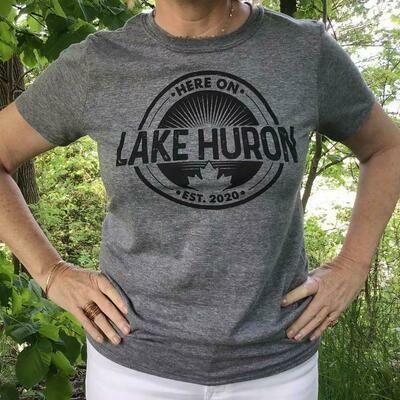 Here On Lake Huron Unisex T-Shirt