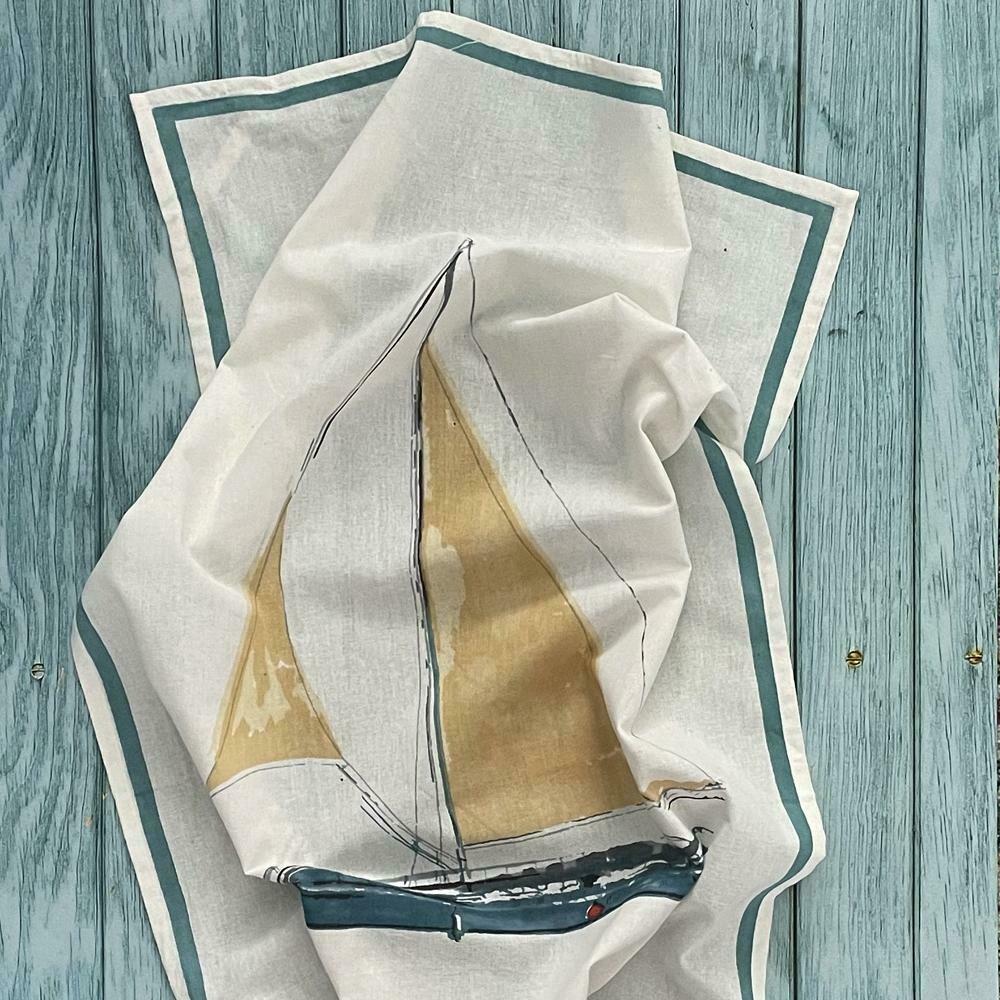 Mahogany Flour Sack Kitchen Towel Set of 2
