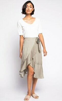 Pink Martini Hopeless Romantic Skirt - Green