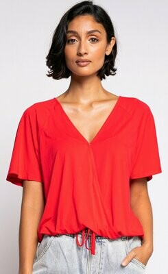 Pink Martini Chelsea Top - Red