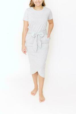 Smash & Tess Rebecca Wrap Dress Grey