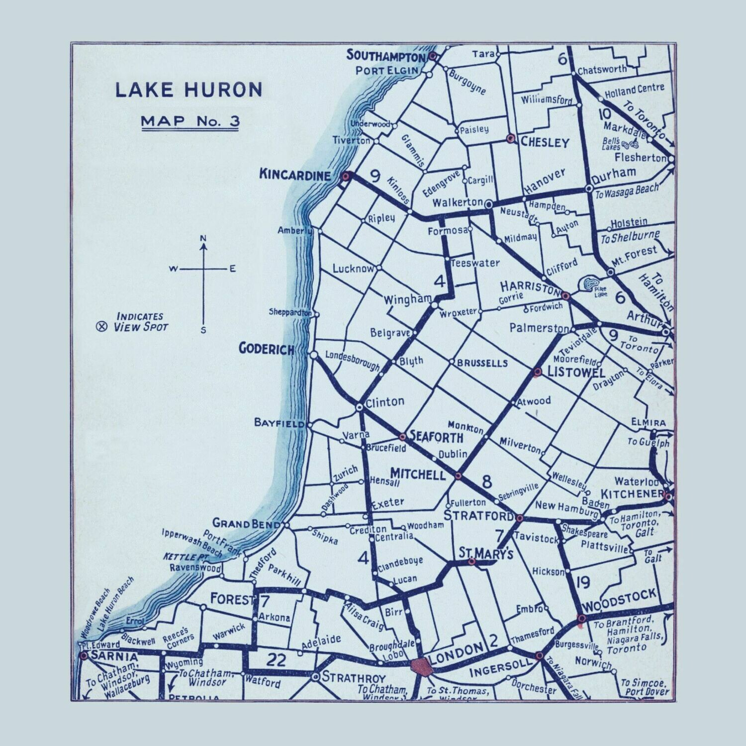 Lake Huron Notecards