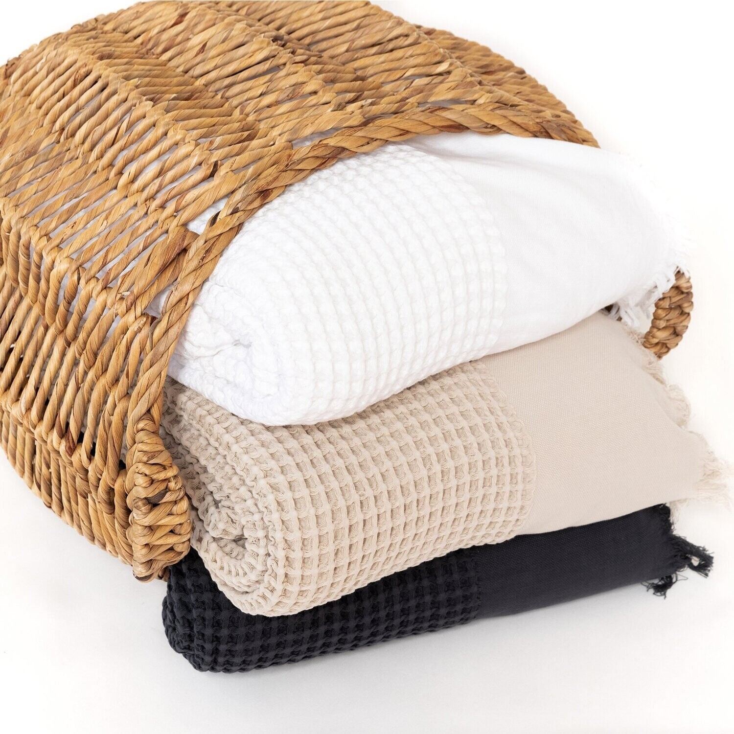 Breeze Waffle Bed Cover