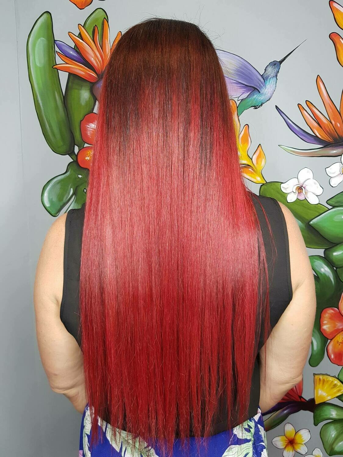 Keratin Power Shot Treatment and Blowwave Package