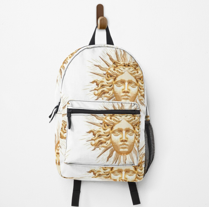 Golden Sun King Backpack