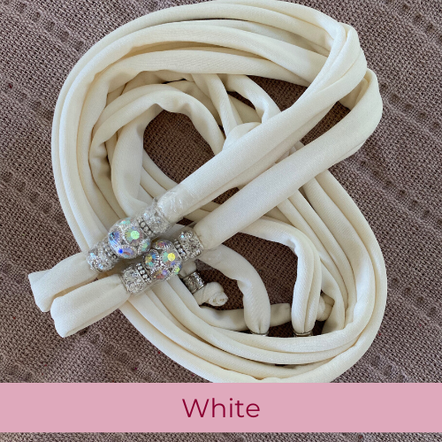 Sparkle Laces - White