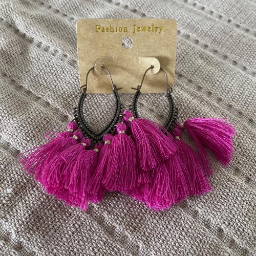 Earrings - Pink