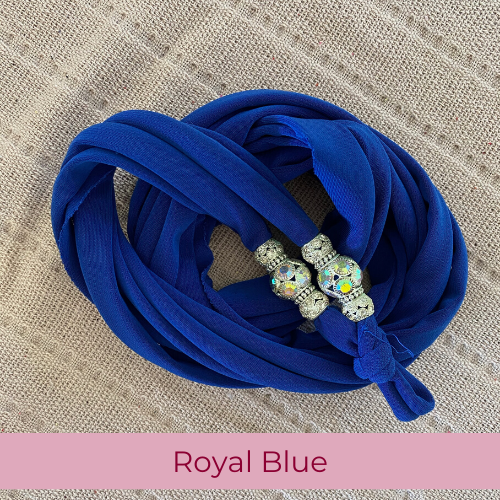 Sparkle Laces Royal Blue
