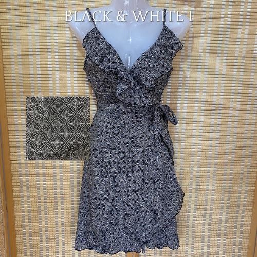Winona ruffle wrap dresses