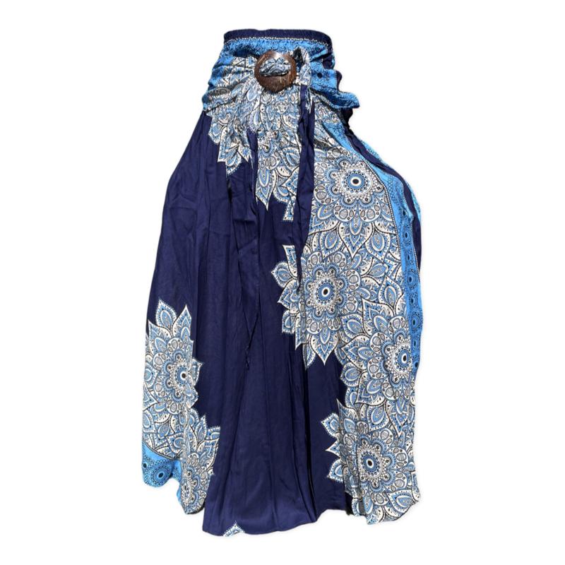 Coconut Skirt Blue/White