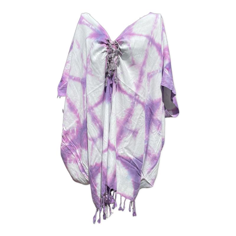 Tunic Dress - Splash Purple
