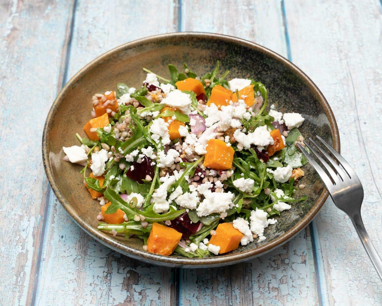 Roasted Pumpkin Salad
