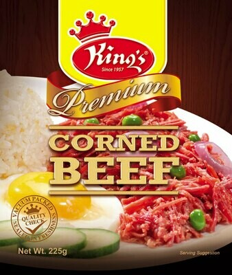 King's Corned Beef (225g)