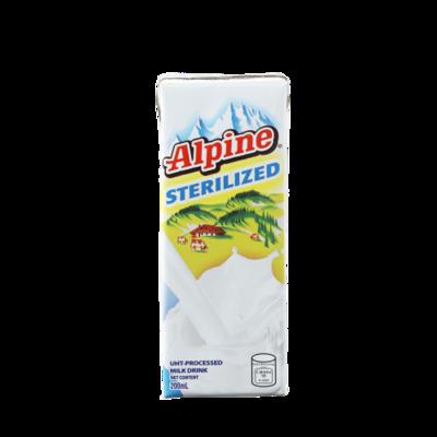 Alpine Sterilized Full Cream Milk Drink (200ml)
