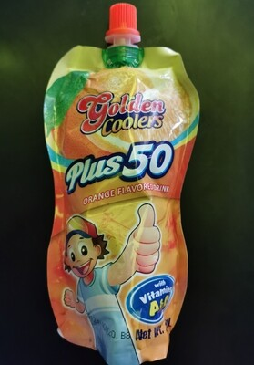 Golden Coolers Flavored Drink - Orange (250ml)
